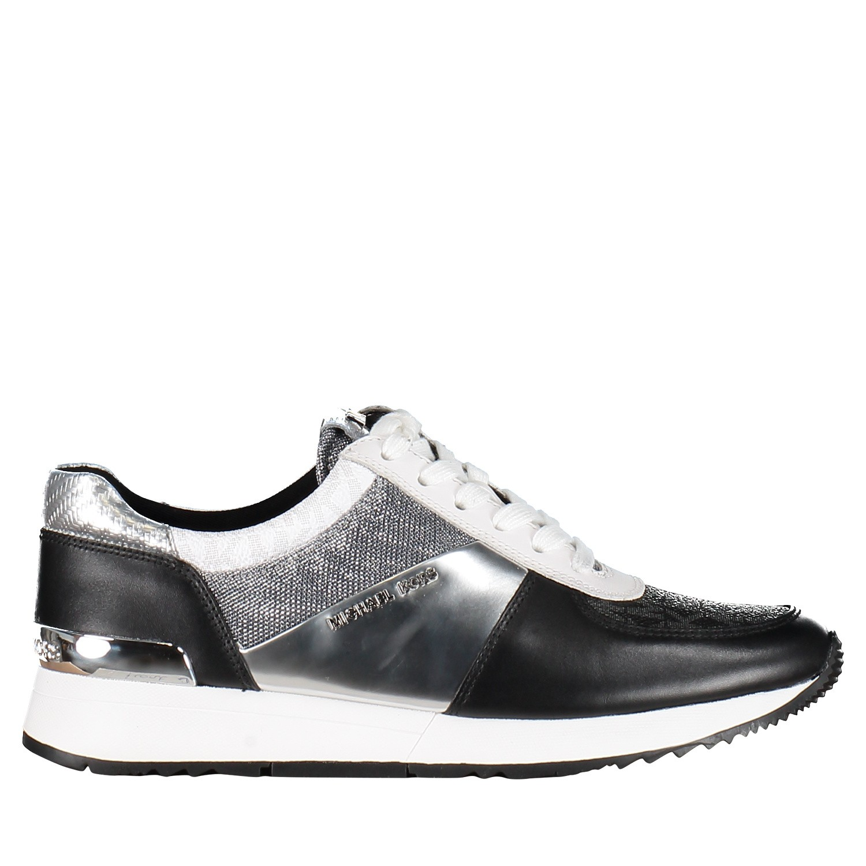Afbeelding van Michael Kors 43R9ALFS2M dames sneakers zwart
