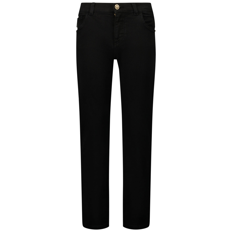 Afbeelding van Versace 1000136 kinderbroek zwart