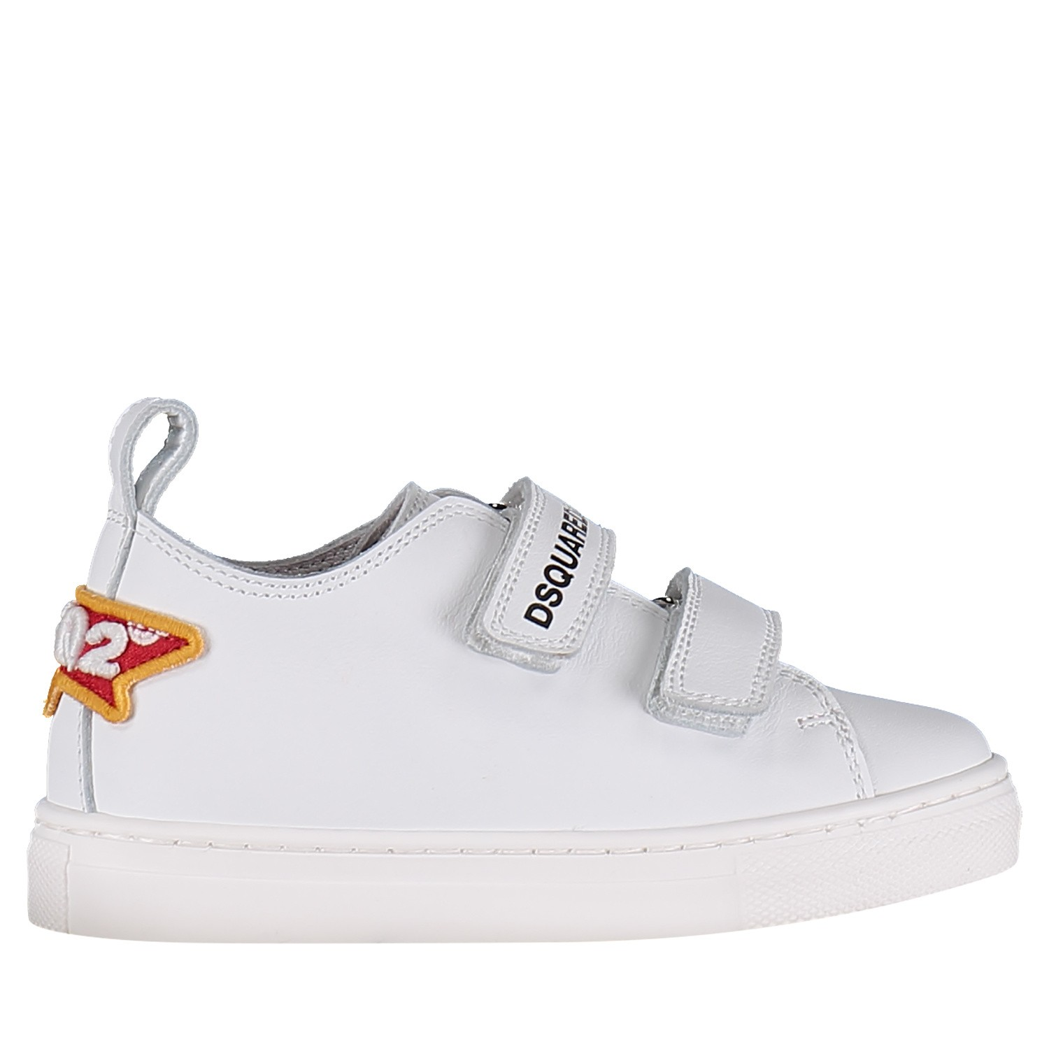 Picture of Dsquared2 59697 kids sneakers white