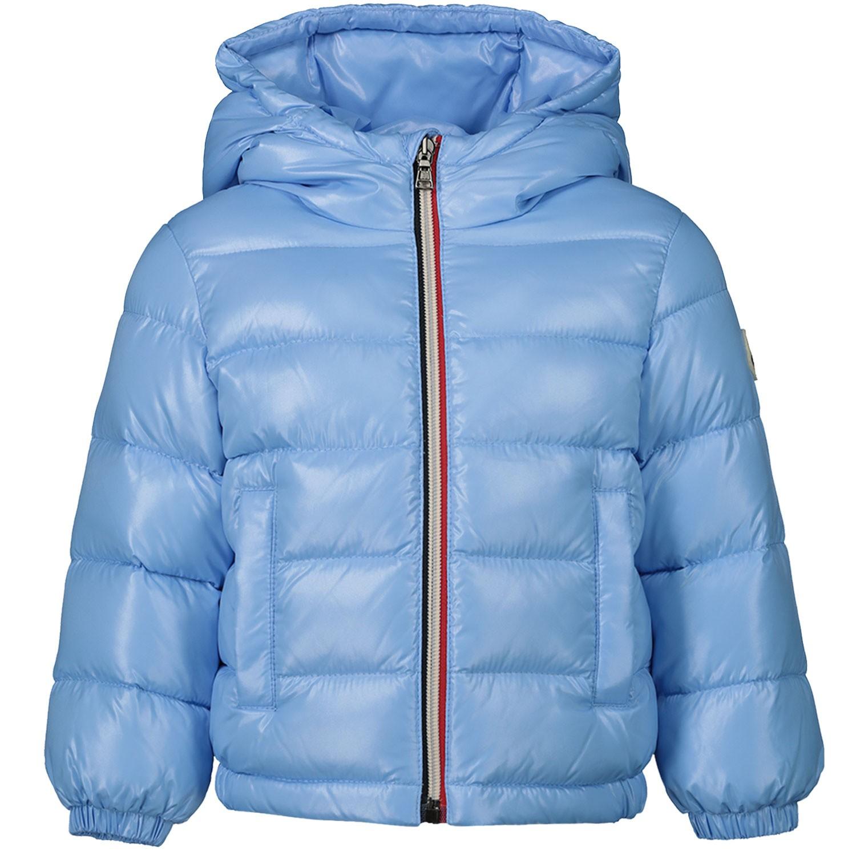 Afbeelding van Moncler 4183605 babyjas licht blauw
