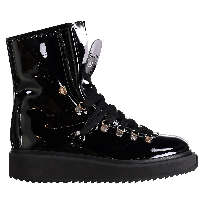 Afbeelding van Kenzo F862BT301L64 dames laarzen zwart