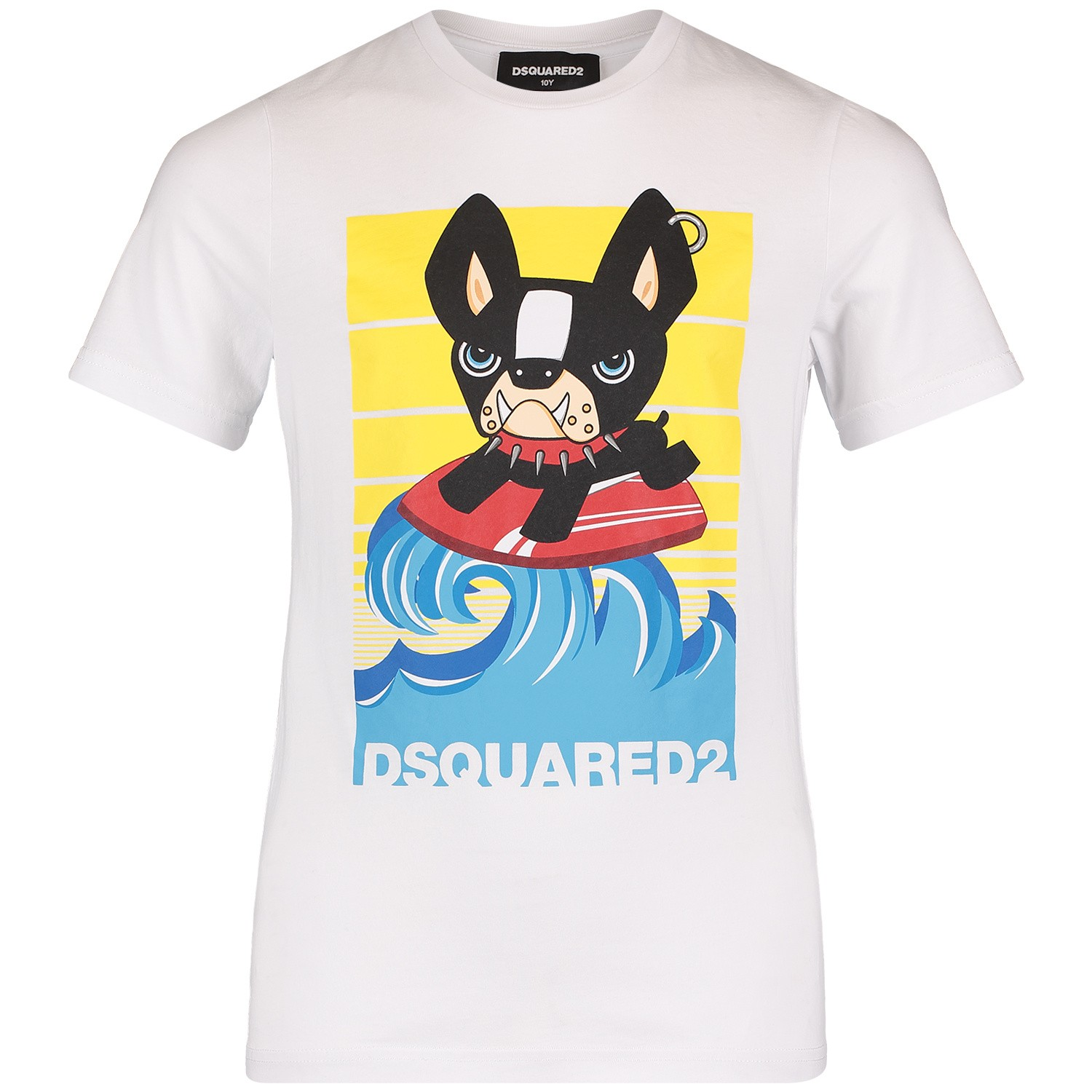 Afbeelding van Dsquared2 DQ03A1 kinder t-shirt wit