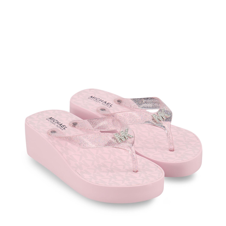 Afbeelding van Michael Kors MK100020 kinderslippers rose