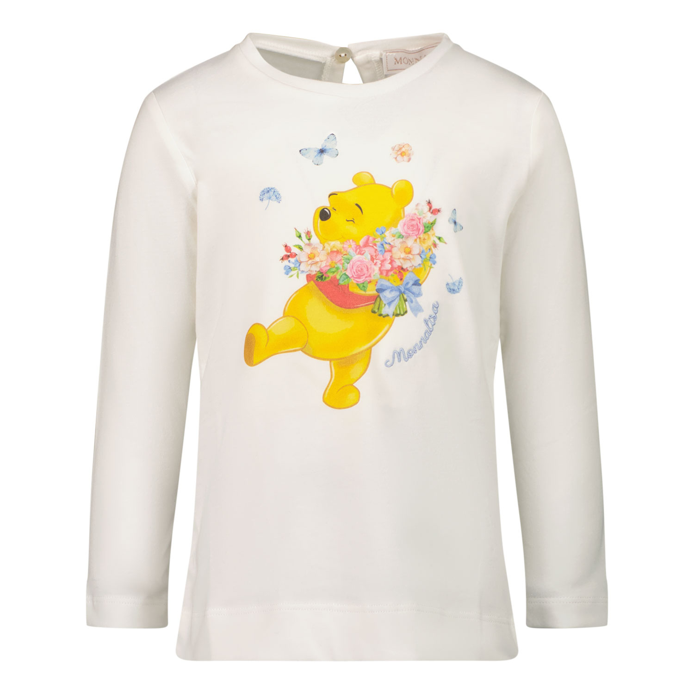 Afbeelding van MonnaLisa 398614P6 baby t-shirt off white