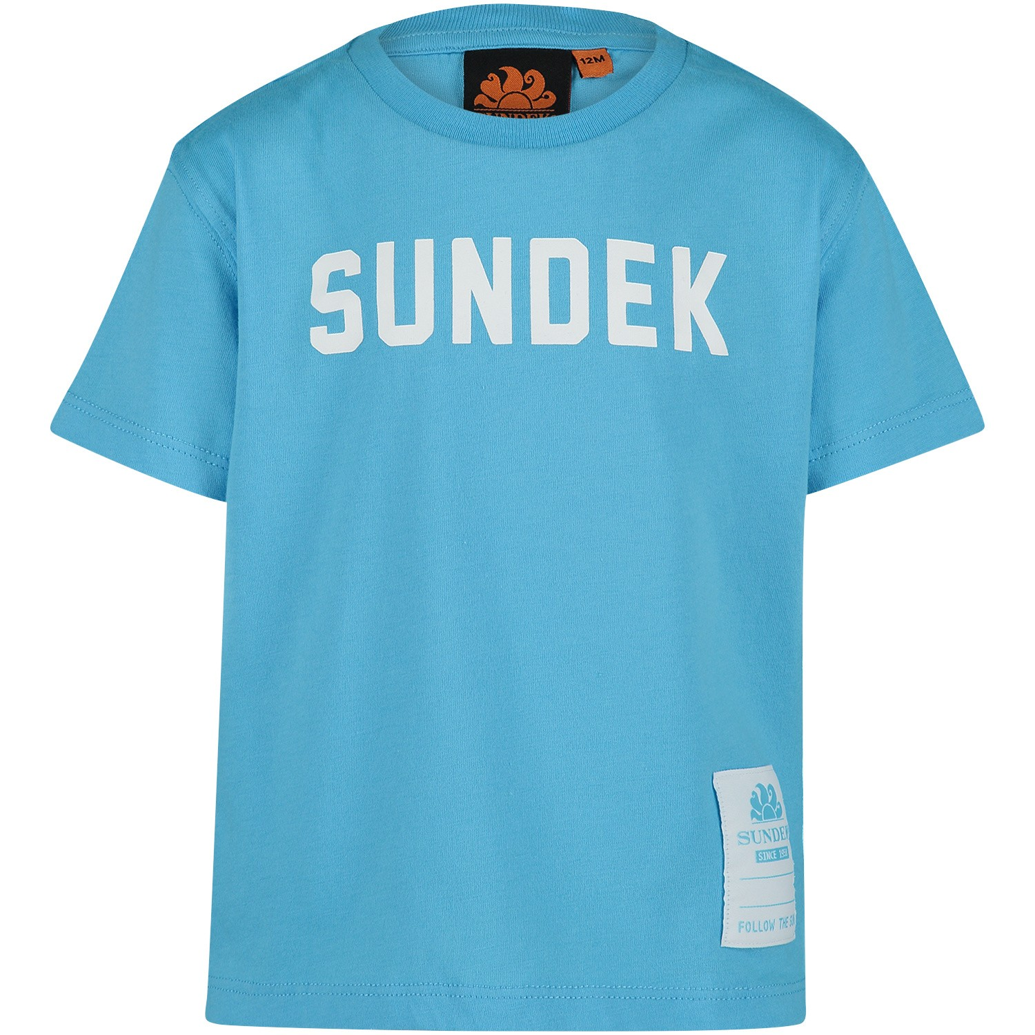 Picture of Sundeck B025TEJ7800 B baby shirt turquoise