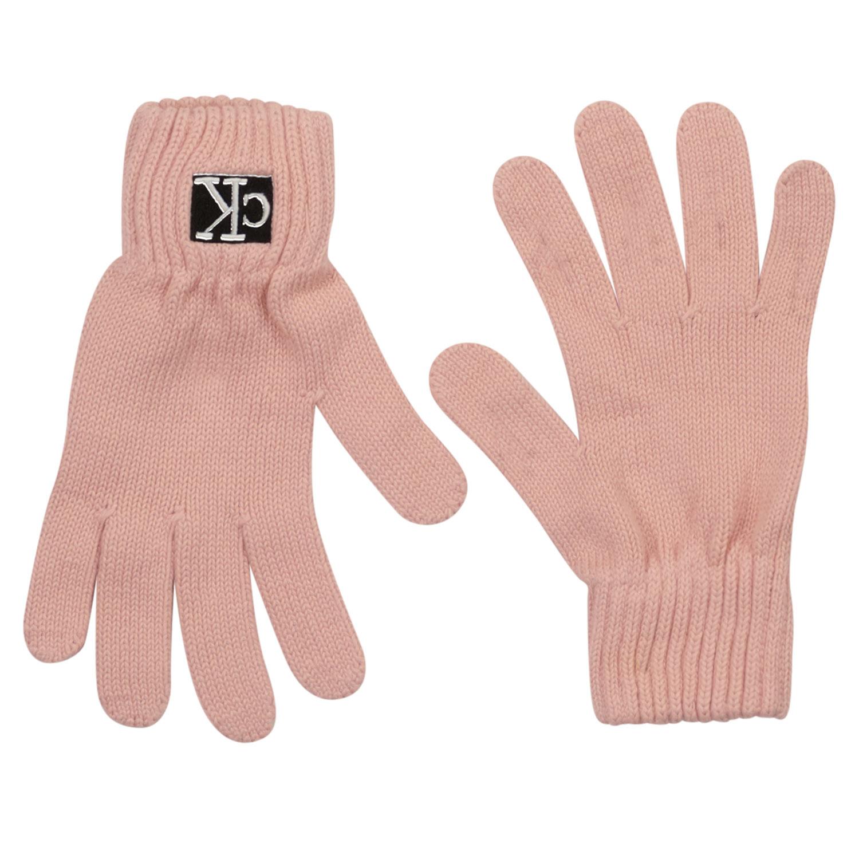 Afbeelding van Calvin Klein IU0IU00221 kinderhandschoenen licht roze