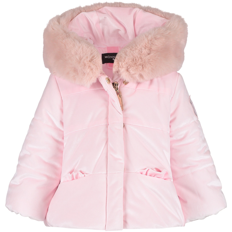 Afbeelding van MonnaLisa 392110 babyjas licht roze