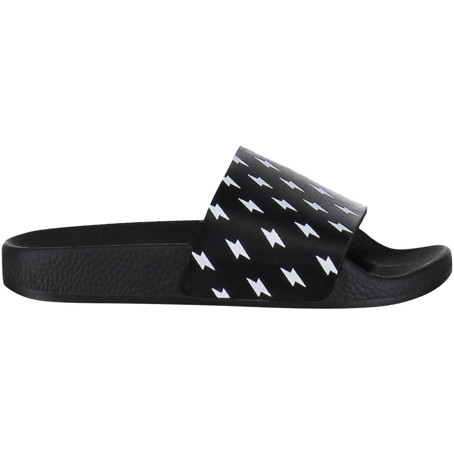 Picture of The White Brand MINI RAYOS kids flipflop black