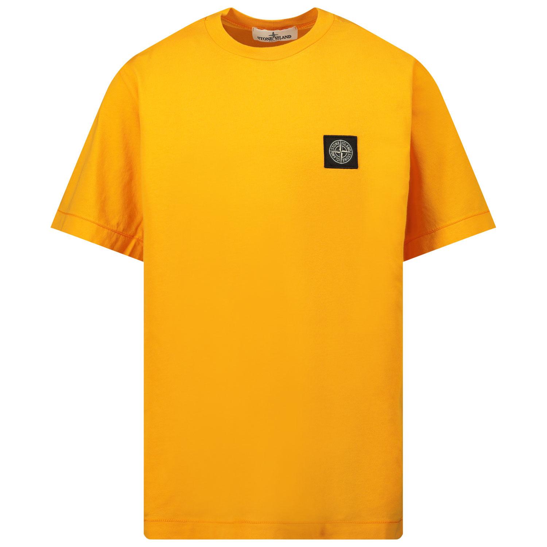 Afbeelding van Stone Island 20147 kinder t-shirt oranje