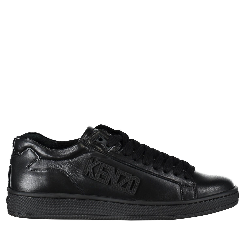 Afbeelding van Kenzo F005SN127L50 heren sneakers zwart