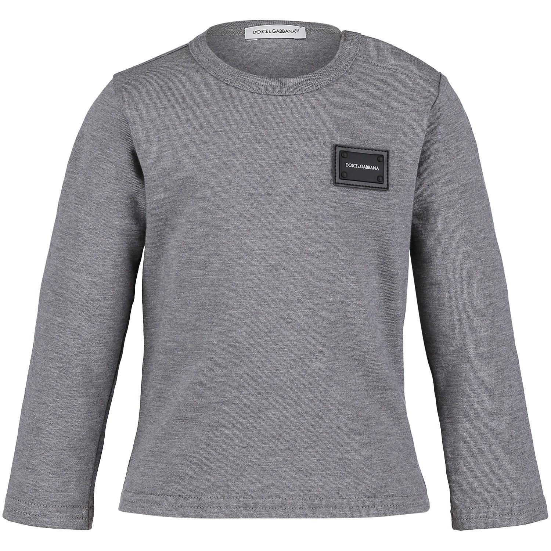 Dolce   Gabbana L1Jt7M G7Olk jongens baby t-shirt grijs bij Coccinelle 790c0f9f5432