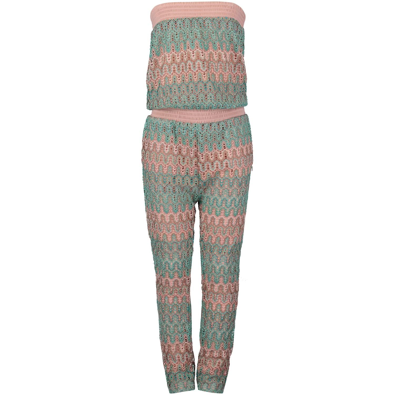 Afbeelding van Jacky Girls JGSS18115 kinder jumpsuit mint