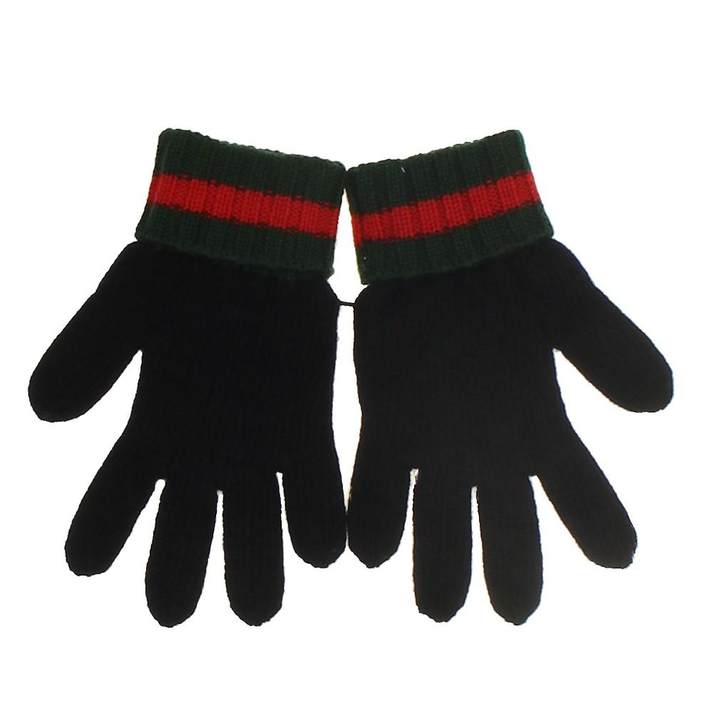 Afbeelding van Gucci 424186 kinderhandschoenen zwart