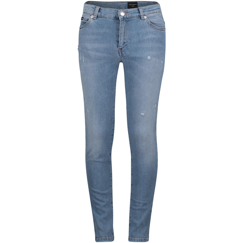 Afbeelding van Dolce & Gabbana L41F30 kinderbroek jeans