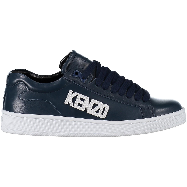 Afbeelding van Kenzo F855SN126L50 heren sneakers navy