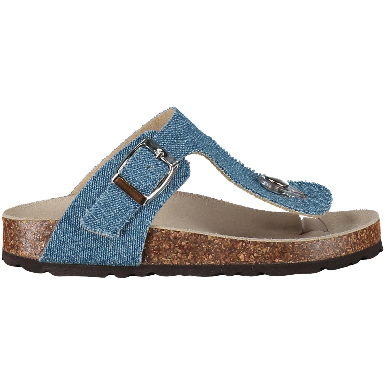 Afbeelding van EB 1731-A13 kinder teenslippers jeans