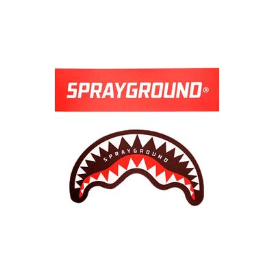 logo van het merk sprayground te koop bij Coccinelle.nl