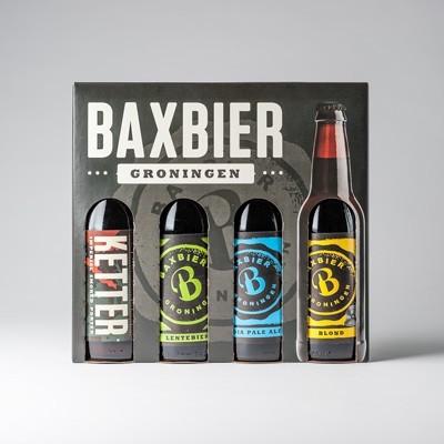 Foto van Baxbier 4 flessen in mooie verpakking
