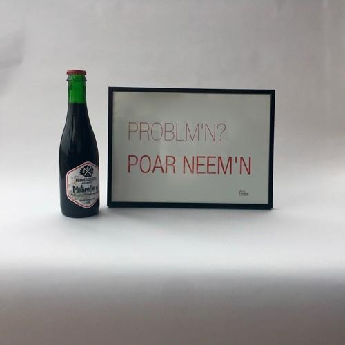 Foto van Voor hem: een stoer biertje met een stoere quote