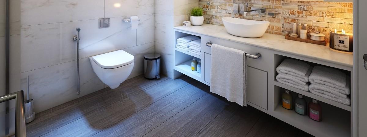 PVC vloer badkamer