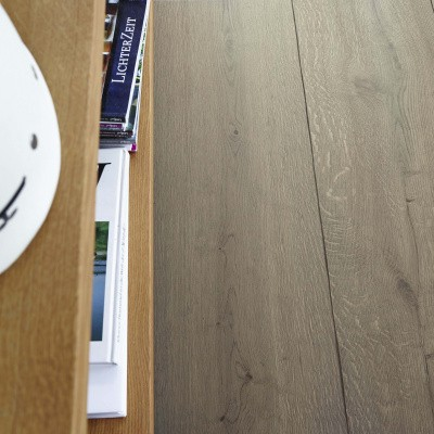 Foto van Meister Lindura Houten Vloeren HD 400-270 Eik Rustiek Leemgrijs 8411