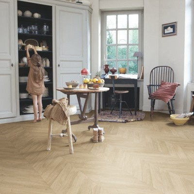 Foto van Quick-Step Impressive Patterns IPA4160 Eik Visgraat Medium