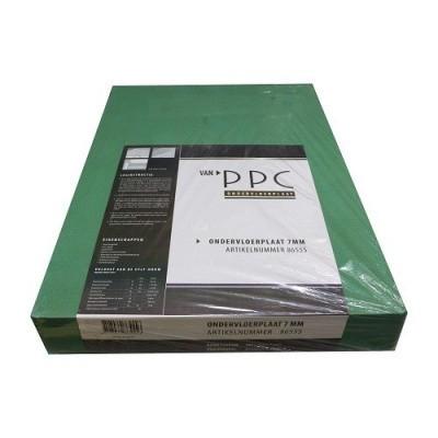 Afbeelding van PPC Groene Ondervloerplaat 7mm
