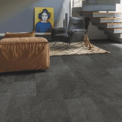 Afbeelding van Quick-Step Lyvin Ambient Rigid Click Leisteen Zwart RAMCL40035