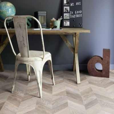 Foto van Gerflor Creation 55 Chevron Buckwheat 0811