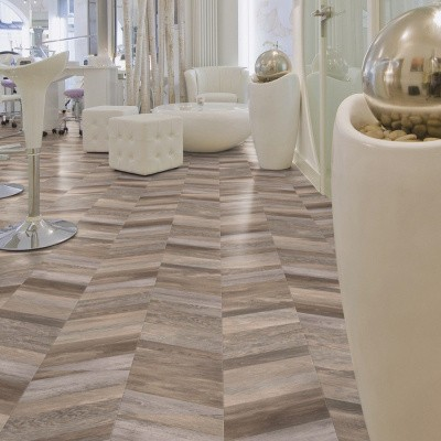 Foto van Gerflor Creation 30 Chevron Buckwheat 0811