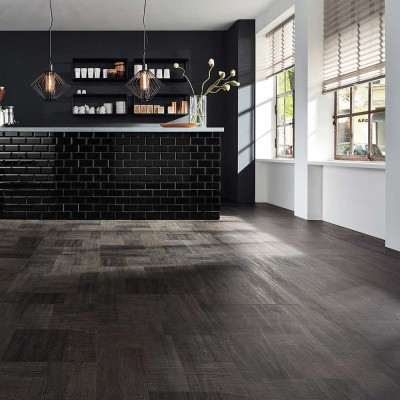 Foto van JAB J-5005 Blocked Wood Grey