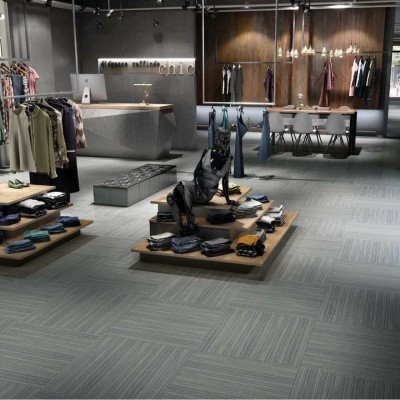 Foto van Gerflor Creation 55 Ponto Cruz Navy 0876