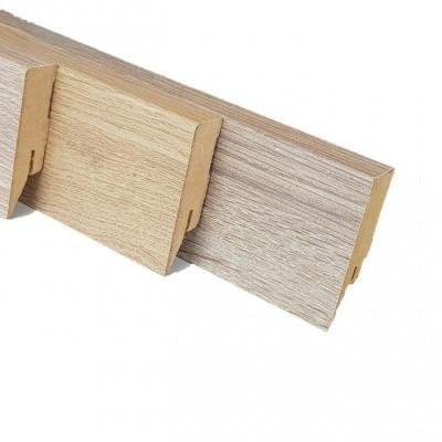 Foto van Bijbehorende MDF Hoge Muur Plint 70 x 15mm
