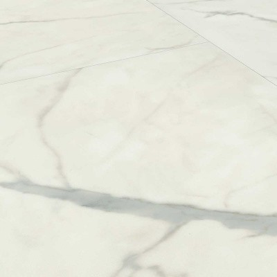 Foto van JAB J-RCL50019 Carrara Marble White Rigid Click PVC