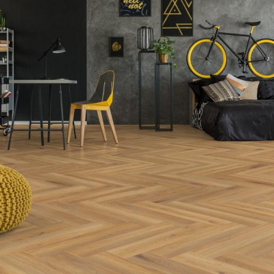Foto van Luxury Living Premium 0.5 Visgraat Andalucia Oak RVC9100