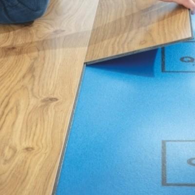 Foto van Quick-Step Lyvin Transitstop ondervloer