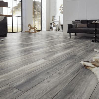 Foto van Kronotex Exquisit Plus Harbour Oak Grey XL