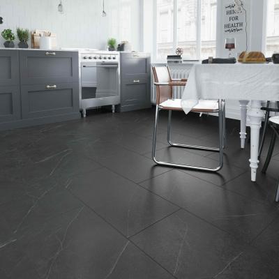 Foto van Rigid Core LVT LF125503 Marble Black XL Click PVC