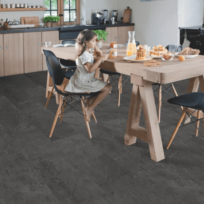 Foto van Quick-Step Lyvin Ambient Rigid Click Plus Leisteen Zwart RAMCP40035