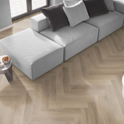 Foto van Luxury Premium Collectie San Francisco Oak LF3524 HE Visgraat Plak