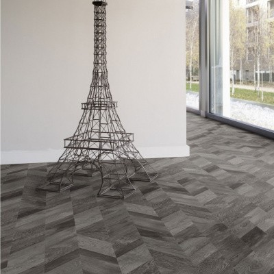 Foto van Gerflor Creation 30 Chevron Hurricane 0809