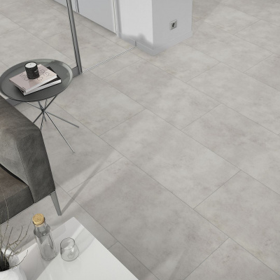 Foto van Luxury Living Premium 0.5 Tiles Terazzo Grey RCS8110