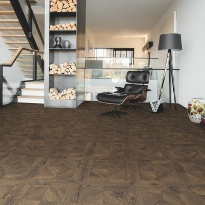 Foto van Quick-Step Impressive Patterns IPA4145 Royal Eik Donkerbruin