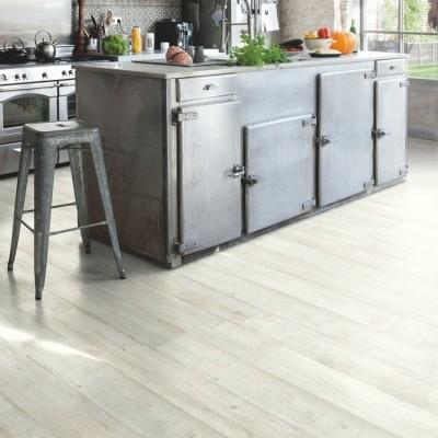 Foto van Quick-Step Balance Glue Plus Artisinale Planken Grijs BAGP40040