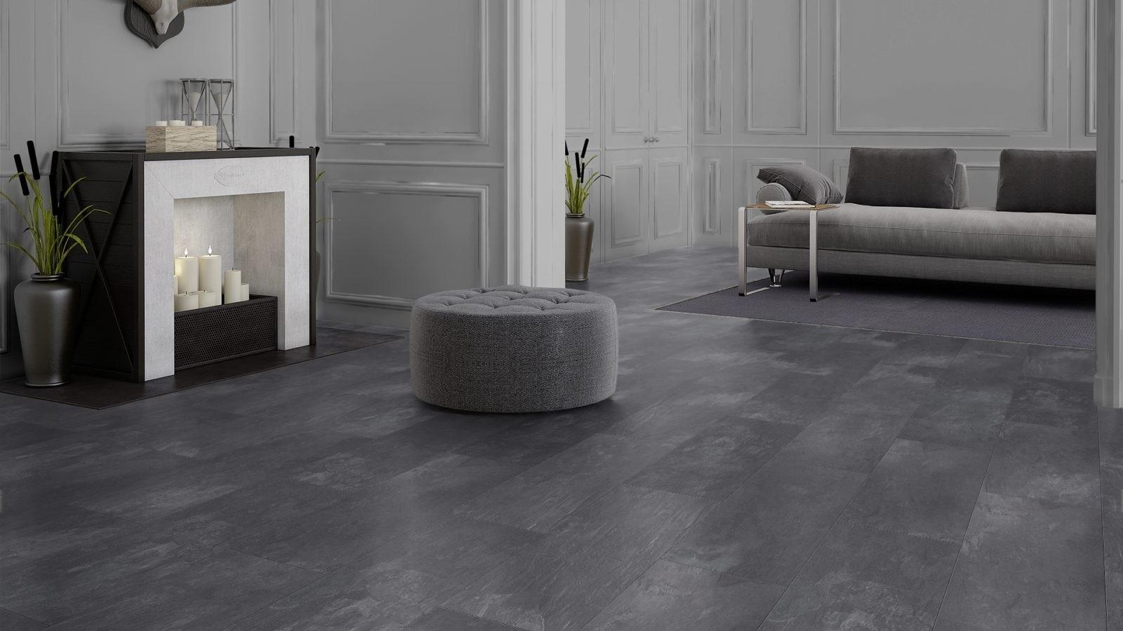 Antraciet Pvc Vloer : Antraciet grijs leisteen online kopen luxury floors