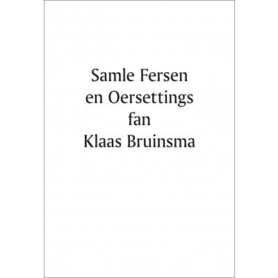 Foto van Samle fersen en Oersettings fan Klaas Bruinsma e-boek