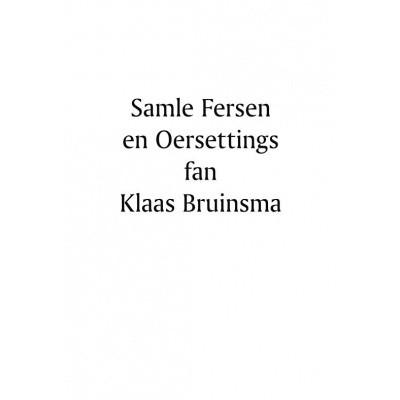 Foto van Samle fersen en Oersettings fan Klaas Bruinsma
