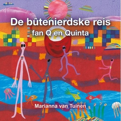 Foto van De bûtenierdske reis fan Q en Quinta e-boek