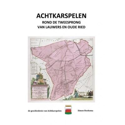 Foto van Achtkarspelen rond de tweesprong van Lauwers en Oude Ried
