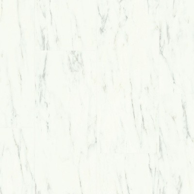 Foto van Quick-Step Ambient Click Carrara Marmer Wit AMCL40136